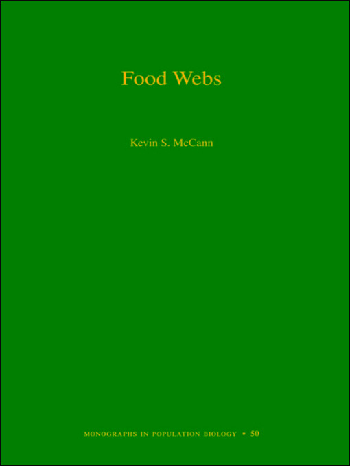 Food Webs (MPB-50) (eBook)